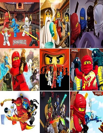 Amazoncom Cartoon Network Legos Ninjago Masters Of Spinjitzu