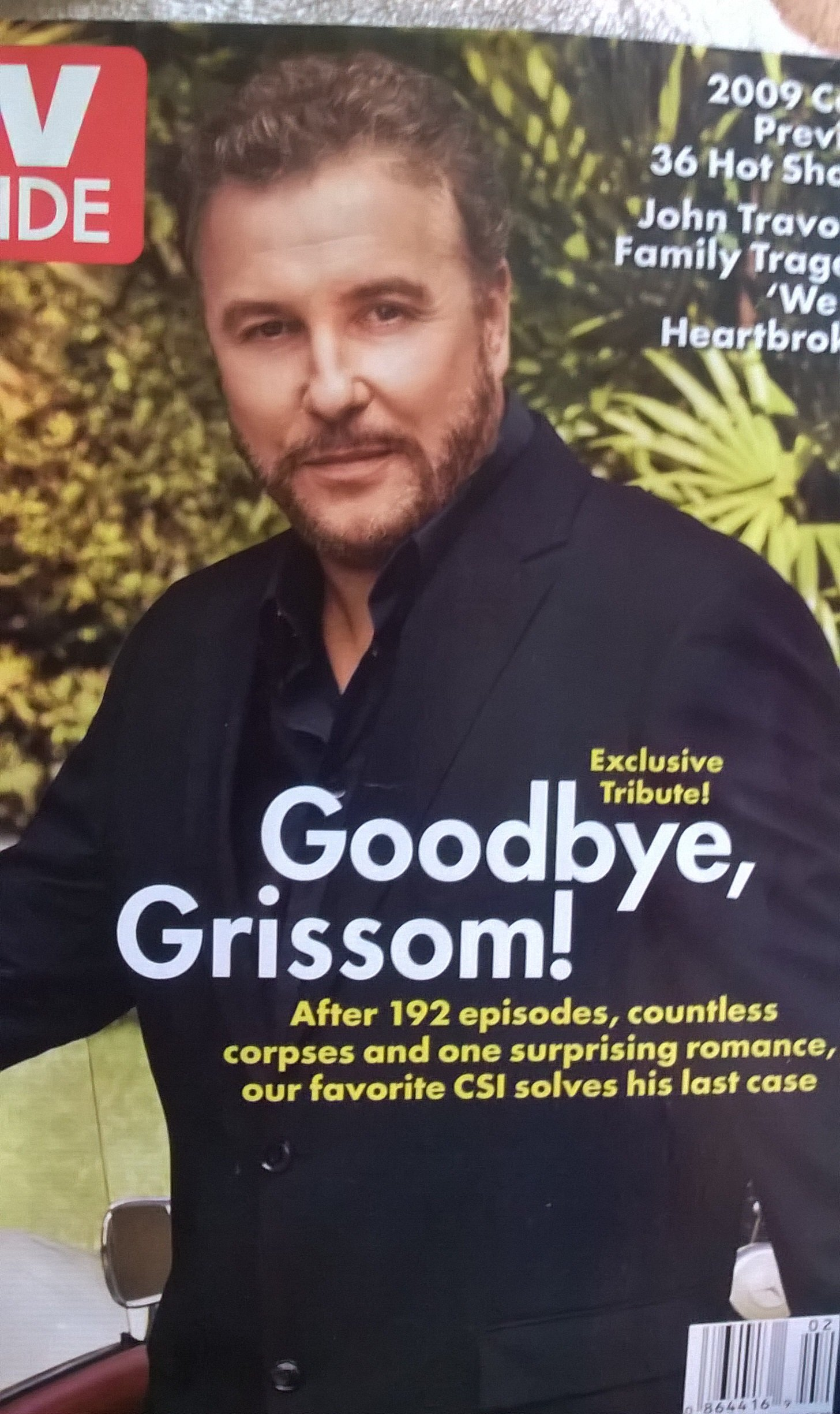 Download TV Guide January 12-18, 2009  Goodbye Grissom pdf