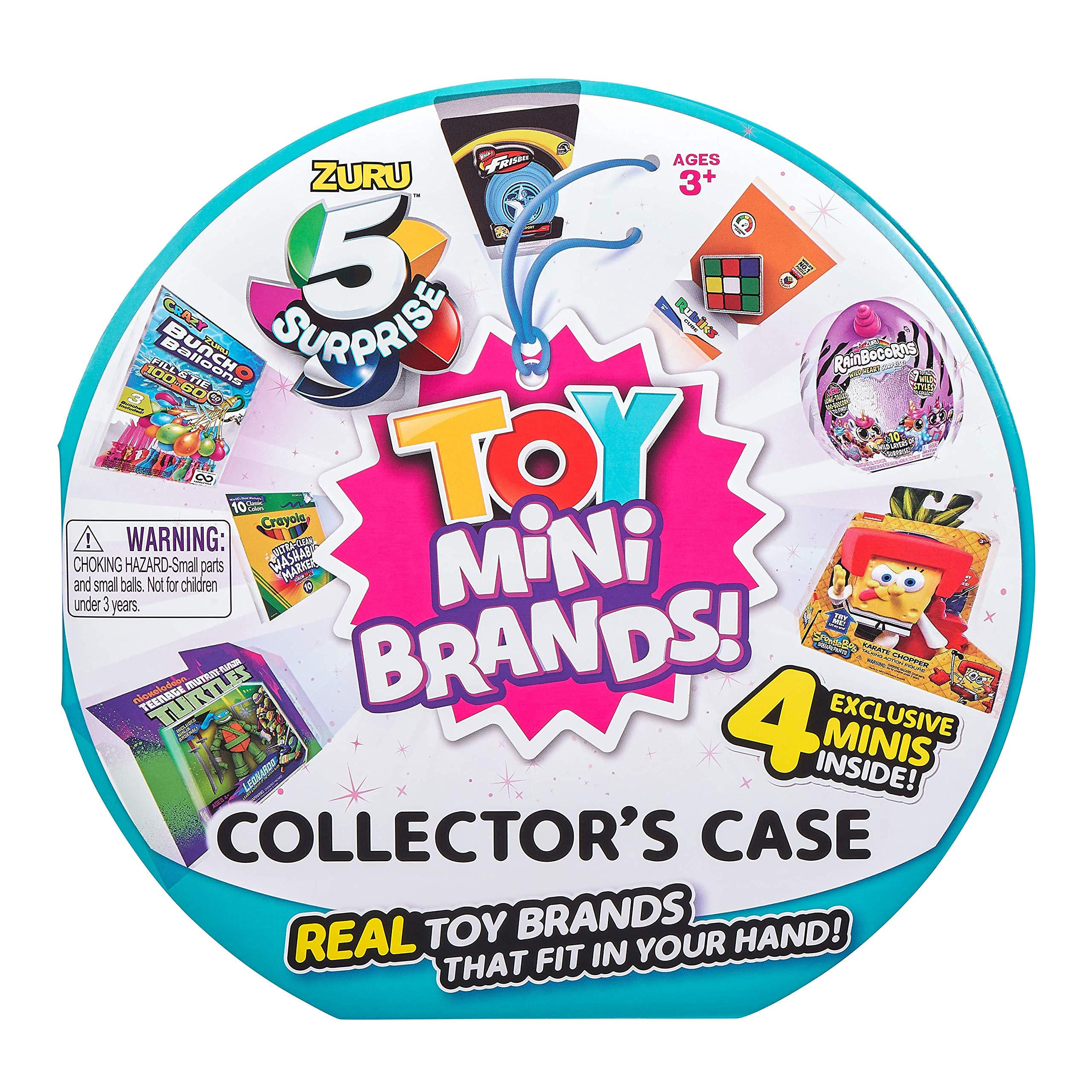 5 Surprise Mini Toys Collectors Case