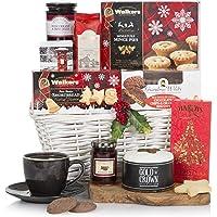 White Christmas Hamper - Xmas Hampers - Festive Food Hamper Baskets