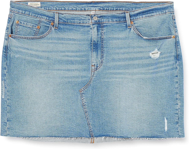 Levis Plus Size Deconstructed Gateway Skirt Pl Falda para Mujer: Amazon.es: Ropa y accesorios