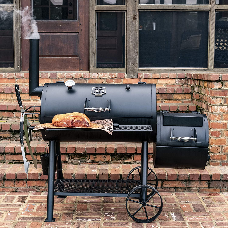 Oklahoma-Joe's-Highland-Offset-Smoker