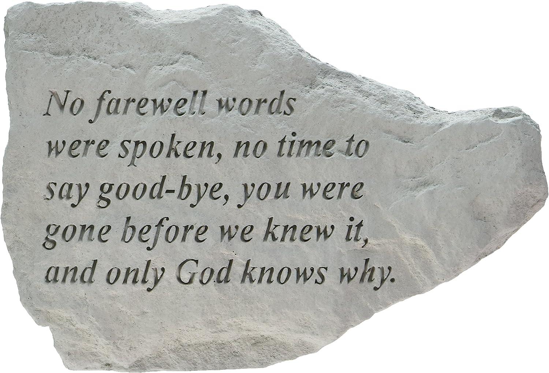 Kay Berry 76420 No Farewell Words were Spoken, Multicolor