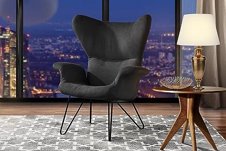 Amazon.com: Acento silla para sala de estar, lino brazo ...