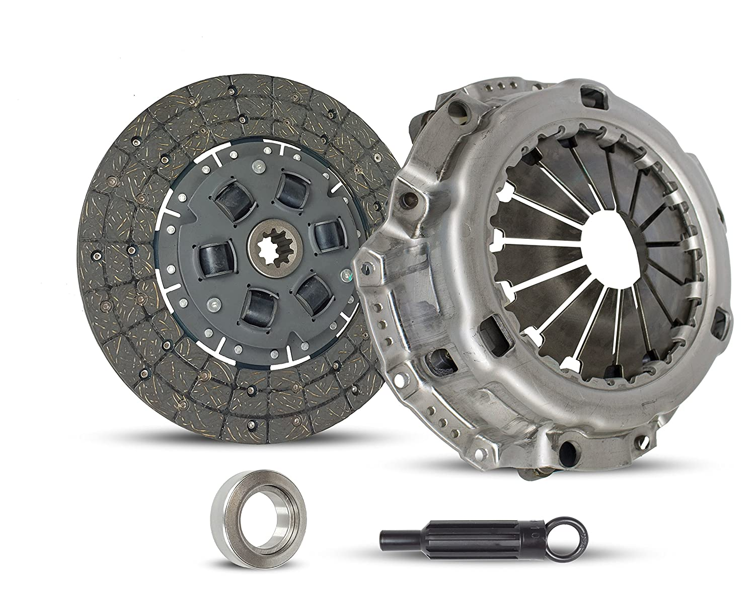 Clutch Kit Works With Toyota Land Cruiser Suv Base Sport Utility Standard Cab Pickup 1975-1987 4.2L l6 GAS OHV Naturally Aspirated (FJ40; FJ45; FJ55; FJ60)