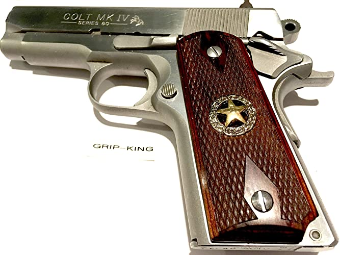 compact 1911 grips,sale $41 88  fits 3-4 inch barrel colt  officers,defenders,kimber cdp wilson,sig,springfield,para,clones  texas  style star,marshal