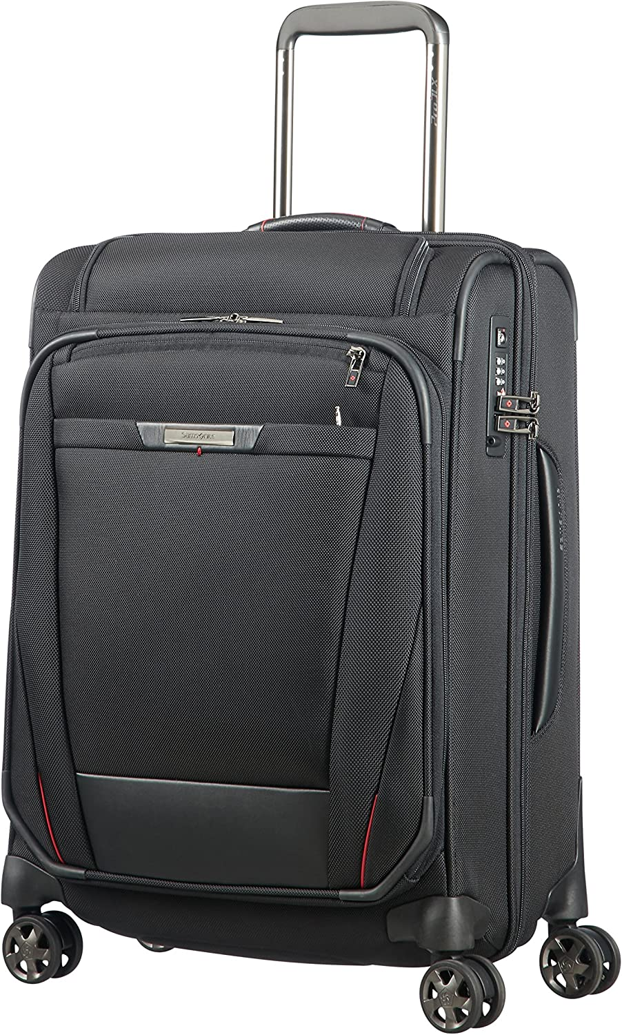 SAMSONITE Pro-DLX 5 - Mobile Office Spinner 56 Quickaccess 3.3 KG Equipaje de Mano, cm, 37.5 Liters, Negro (Black)