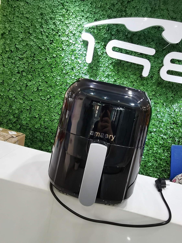 Amaery Air Fryer, Max XL 5.5 Quart, 1500-Watt Electric Hot Air Fryers Oven & Oilless Cooker for Roasting, LED Digital