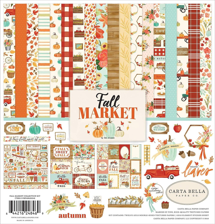Carta Bella Paper Company Spring Market Frames /& Tags