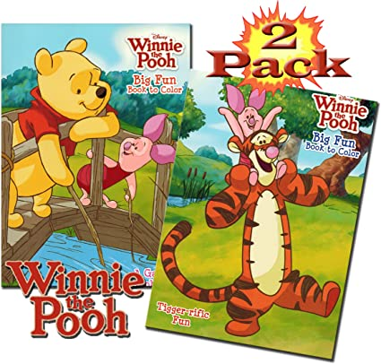 - Amazon.com: Disney Winnie The Pooh Coloring And Activity Book Set (2 Books  - 96 Pages): Toys & Games