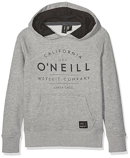 O Neill N01470 - Sudadera para niño, Niño, N01470, Silver Mel,