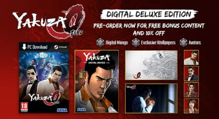 Yakuza Zero Pre-purchase [Online Game Code]