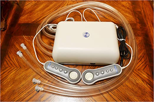 Used Select Comfort Sleep Number Air Bed Pump 4 Dual Chamber Queen King Mattress