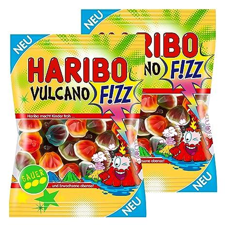 Haribo Vulcano Fizz, Sauer, Golosinas, Ositos de Goma, Vino Goma, Caramelos