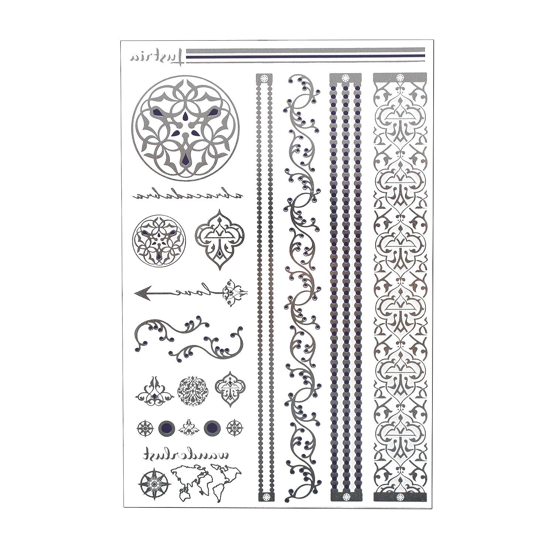 LustriaLustria Joyería de tatuaje metálico - Pulseras, brazaletes ...