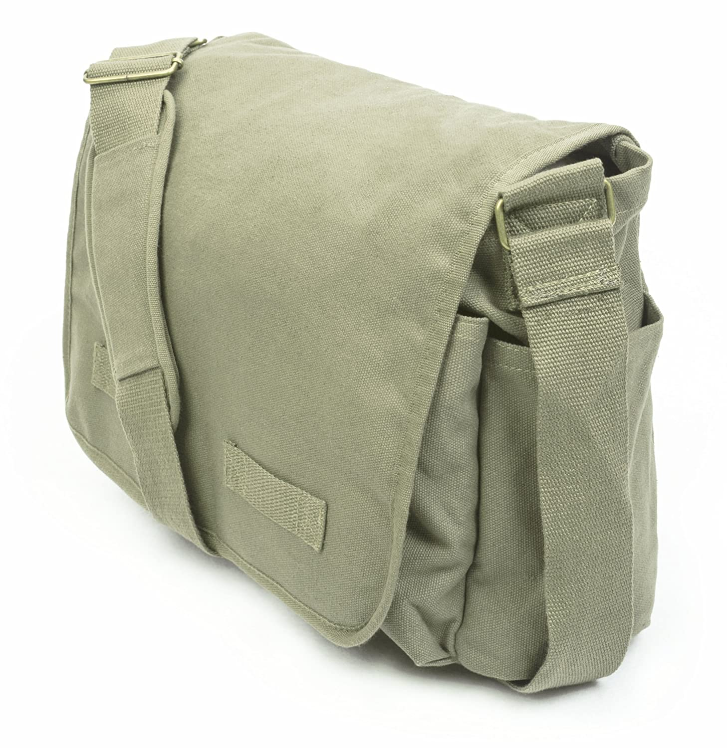 b9aba43f69a3 Sweetbriar Classic Messenger Bag - Vintage Canvas Shoulder Bag for All-Purpose  Use CMBB
