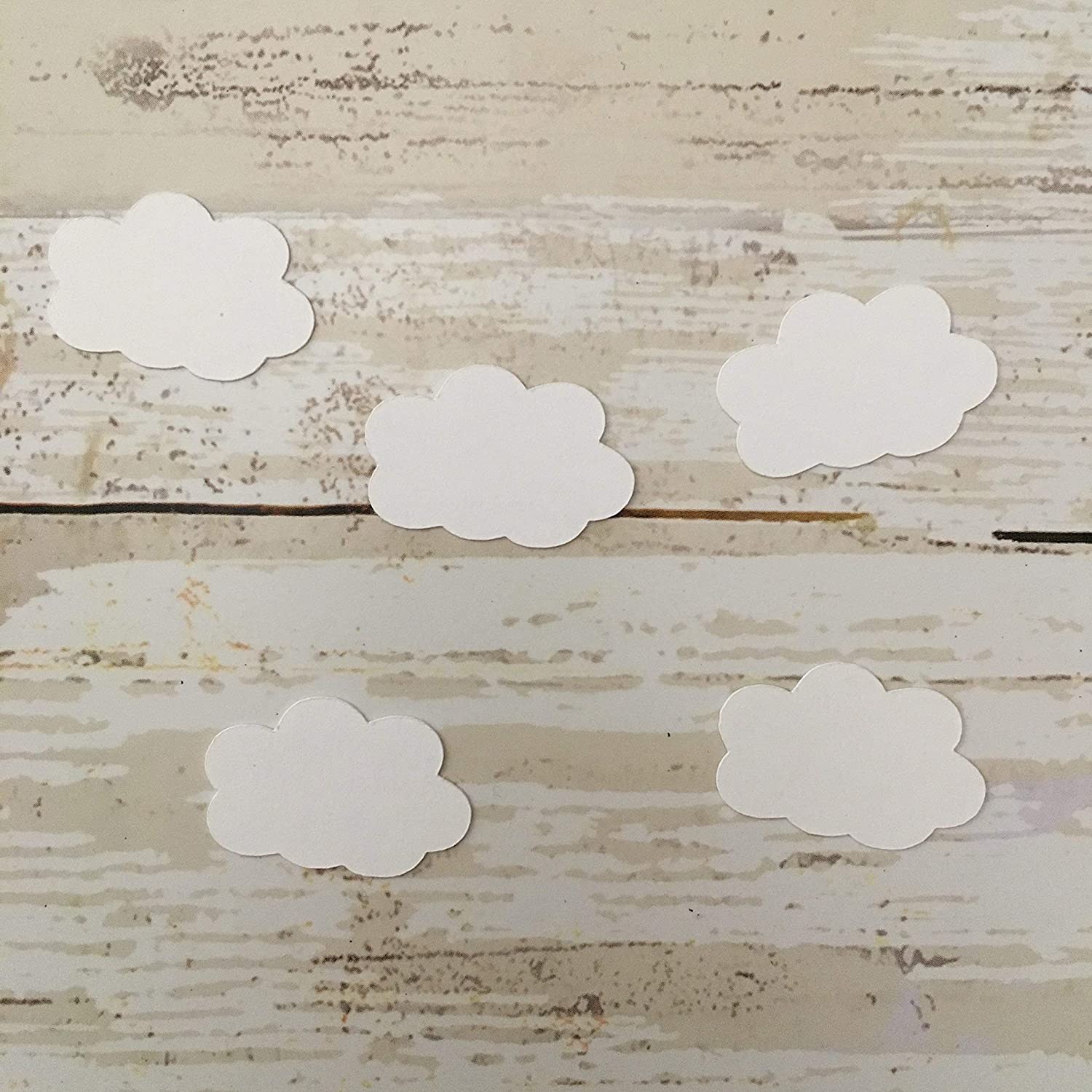 Cloud Confetti 1st Birthday Party Decorations 50 Pieces