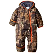 Columbia Baby Boys' Frosty Freeze Bunting, Timberwolf, 0-3 Months
