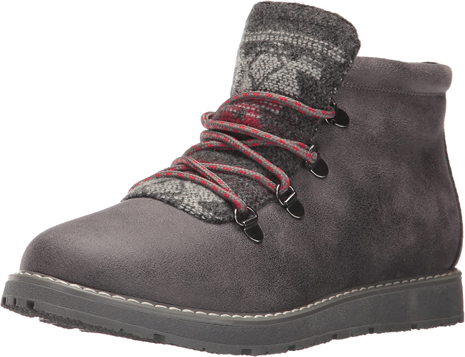 Prima frotis Teórico  Amazon.com | Skechers BOBS Women's Bobs Alpine-Keep Trekking. Aztec Tongue  Hiking Boot w Memory Foam, Charcoal, 6 M US | Hiking Boots