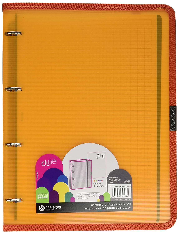 Carchivo 12377452 Carpeblock con recambio color naranja