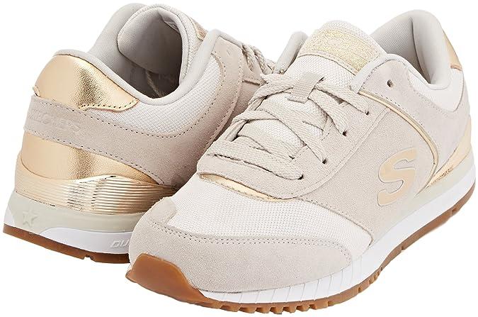 Skechers Damen Sunlite Revival Sneaker Elfenbein (Off White