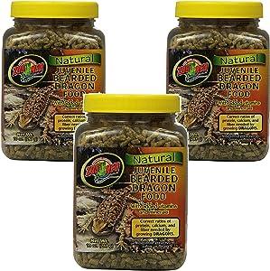 Zoo Med Bearded Dragon Food 10oz (3 Pack)