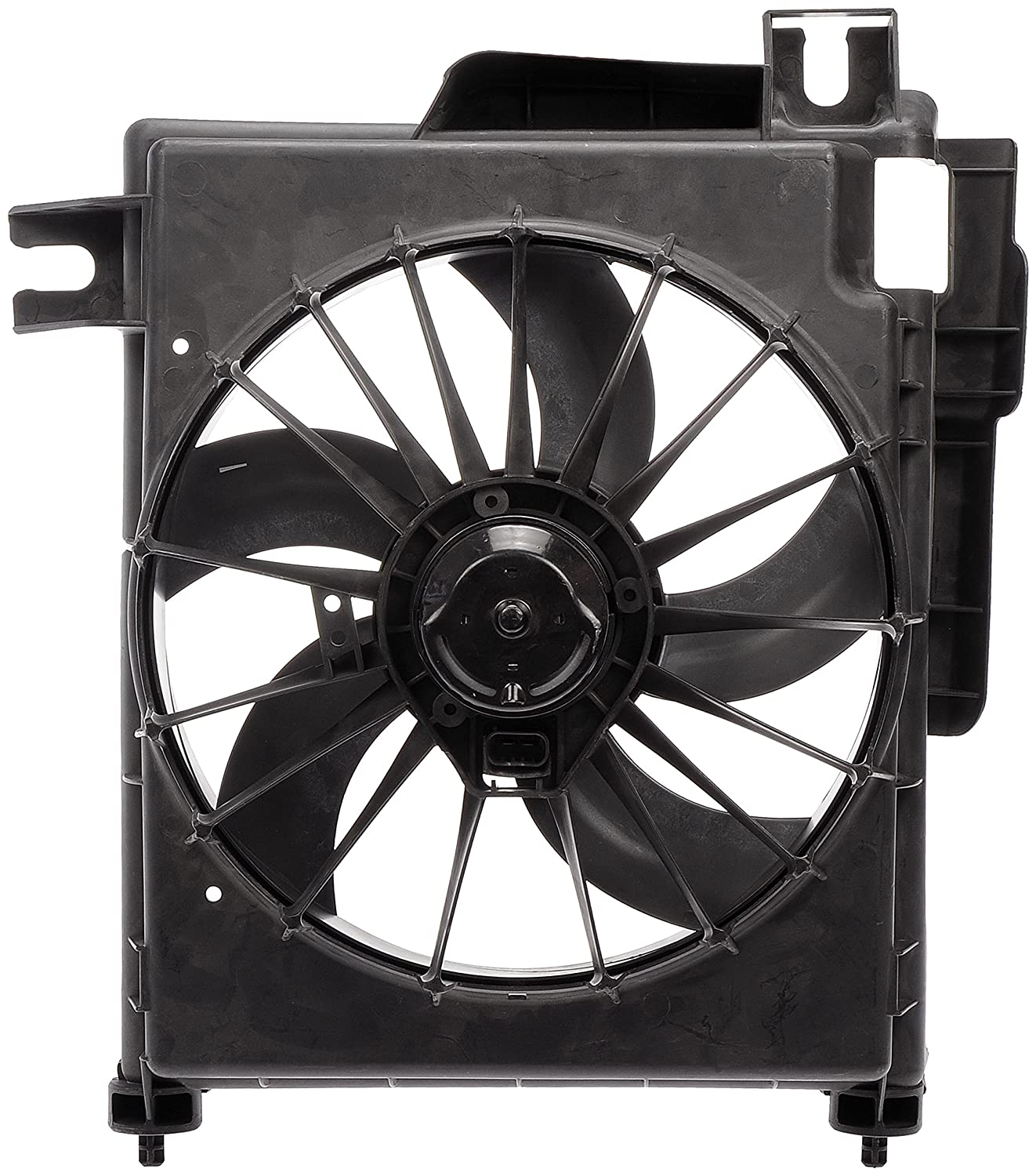 Dorman 620-035 Radiator Fan Assembly With Extra Harness