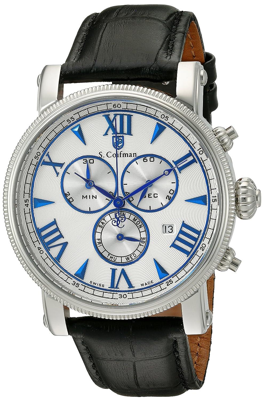 S.Coifman Herren- Armbanduhr Chronograph Quarz SC0296