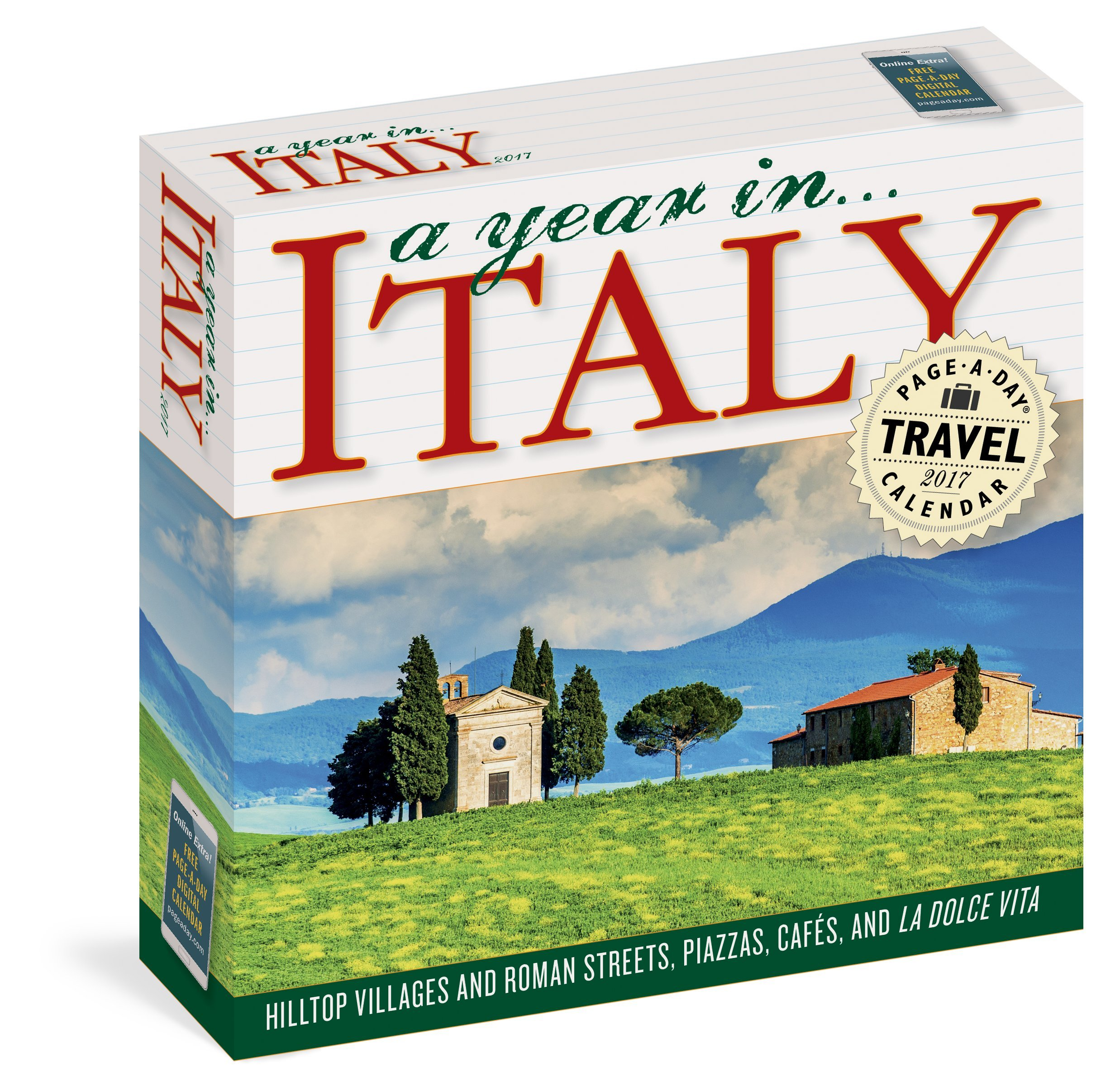 A Year in Italy Page-A-Day Calendar 2017: Workman Publishing:  9780761190011: Amazon.com: Books