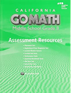 Holt mcdougal go math california assessment resource with answers california assessment resource with answers grade 8 fandeluxe Gallery