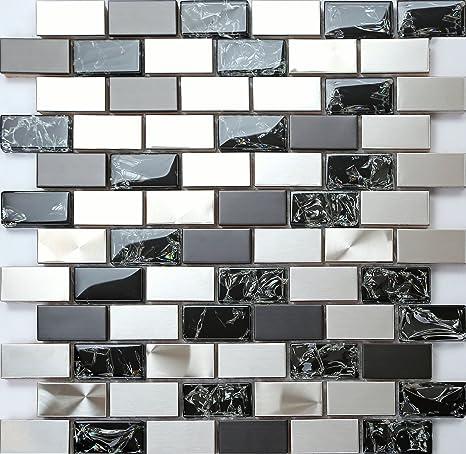 GTDE - Azulejos con mosaico efecto cristal craquelado y ...