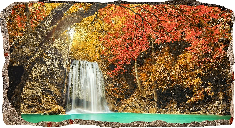 3d Fußboden Wald ~ Startonight 3d tapete wasserfall im wald wandmalerei bild an der