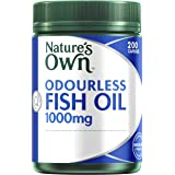 Nature's Own Odourless Fish Oil 1000mg - 200 Capsules