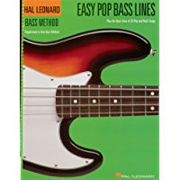 Easy Pop Bass Lines: Supplemental Songbook to Book 1 of the Hal Leonard Bass Method (English Edition)