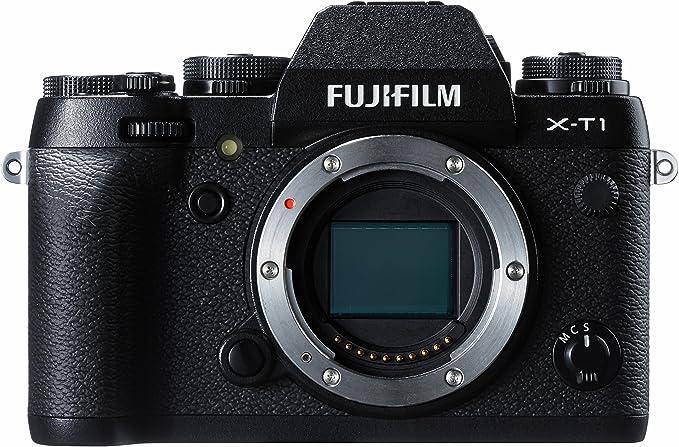 Fujifilm X-T1 - Cuerpo de cámara EVIL de 16.3 MP (pantalla 3 ...