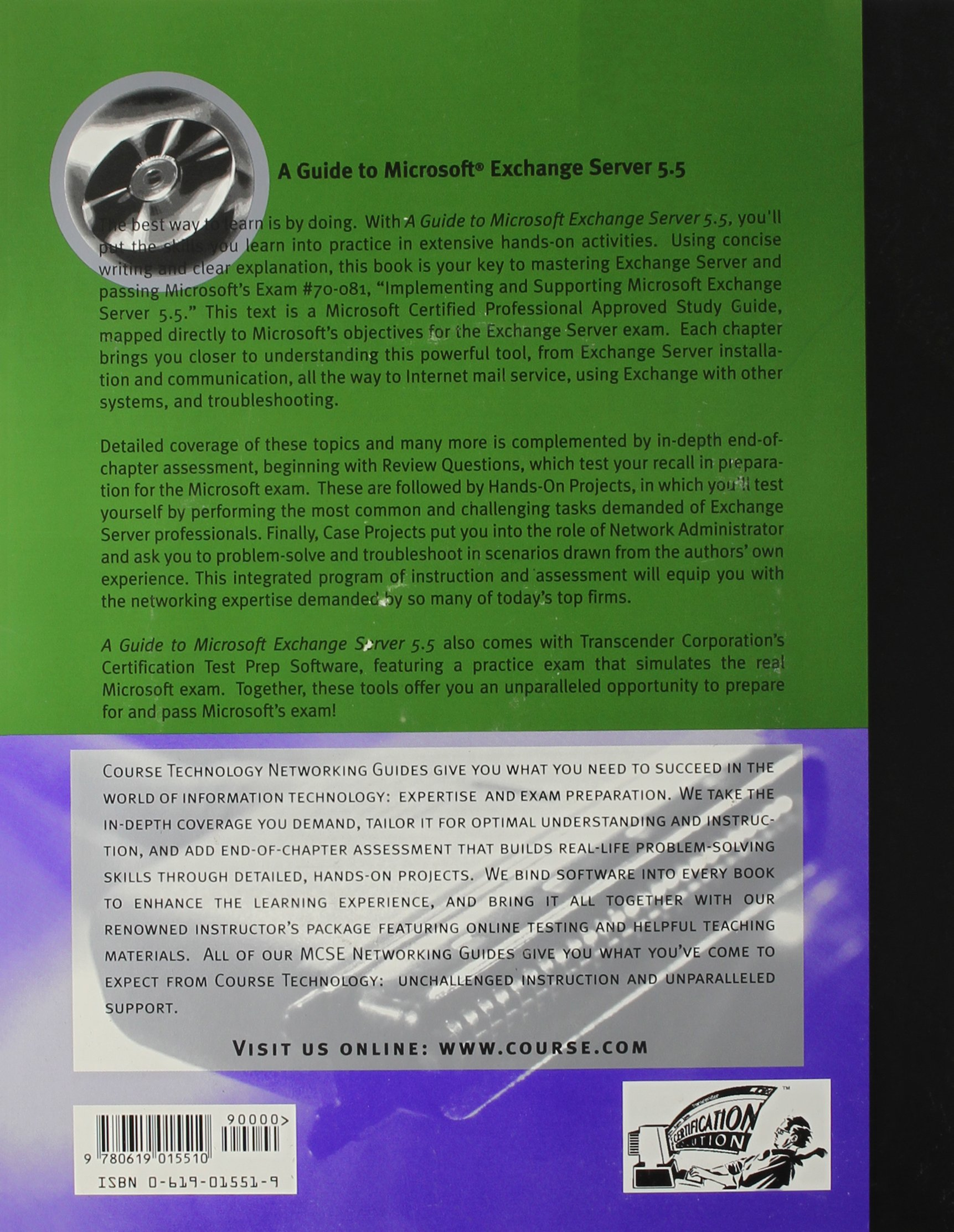 A Guide To Microsoft Exchange Server 55 Amazon Ed Tittel