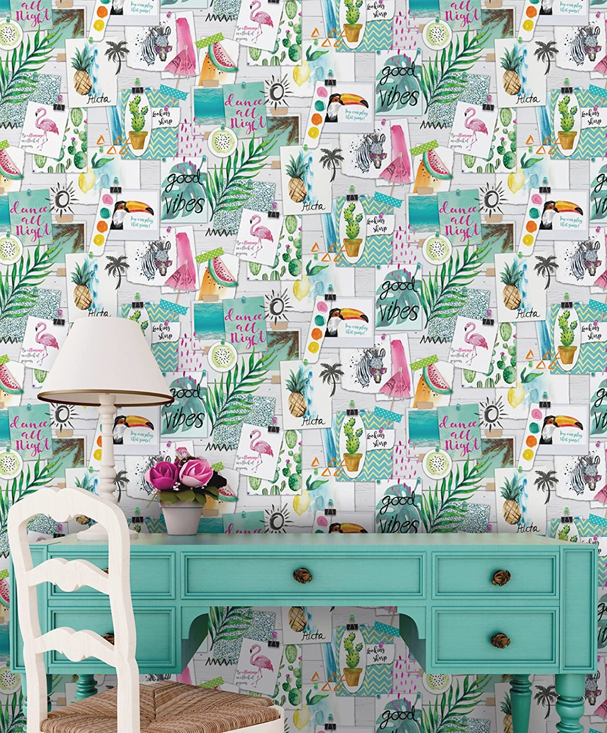 Holden Decor 12150 Paper Collection Imaginarium Wallpaper 10.05 x 0.53 m