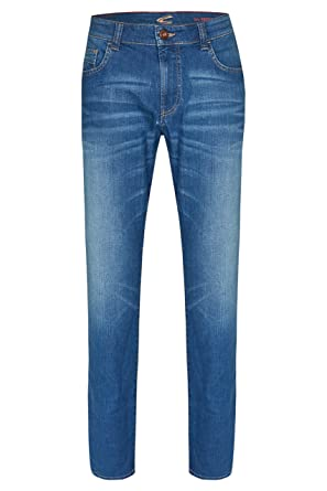 camel active Herren Sommer Jeanshose 488725 7945 Houston Mid Blau Used   Amazon.de  Bekleidung e8639a5d35