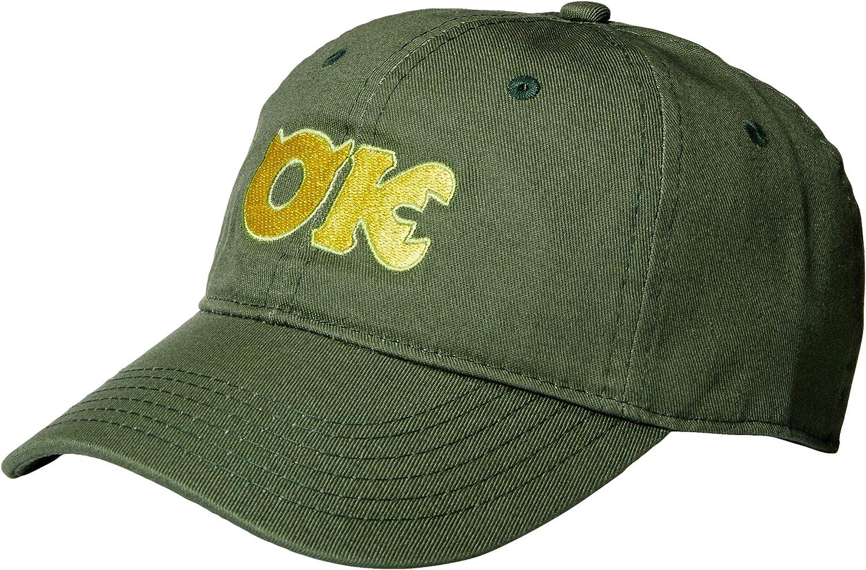 Disney Pixar Monsters University Inc Oozma Kappa Adjustable Baseball Cap Hat Green At Amazon Men S Clothing Store