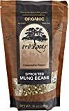 truRoots Organic Sprouted Mung Beans, 10-Ounce Pouches (Pack of 6)