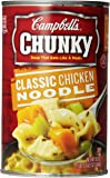 Campbell's Chunky Soup, Classic Chicken Noodle, 18.6 Ounce