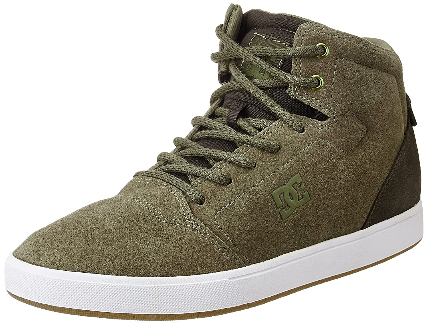 brown (Brown Dk Olive - Bo5) DC Men's's Crisis Trainers bluee
