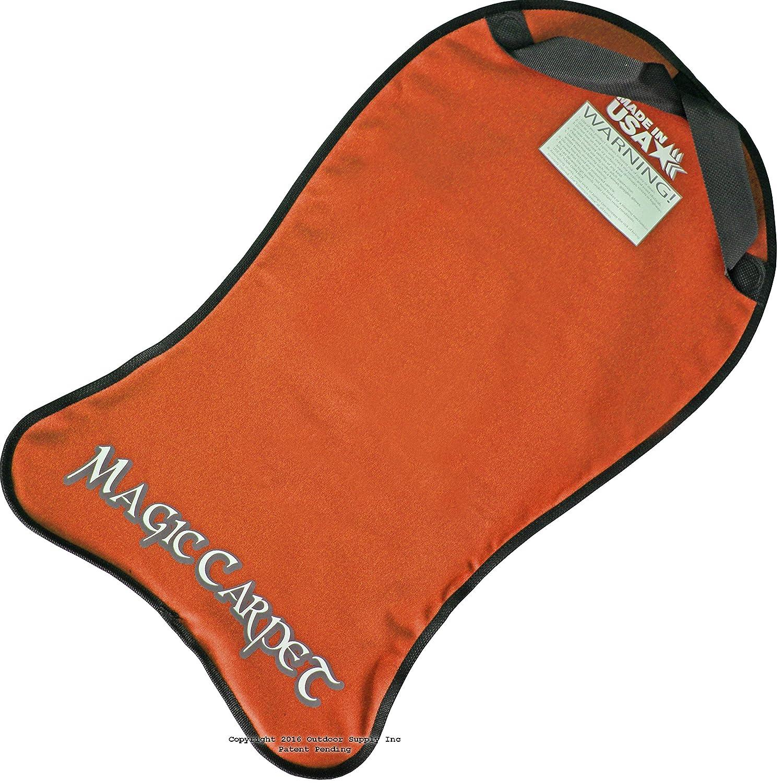amazon com bradley magic carpet flexible snow sled flyer kids