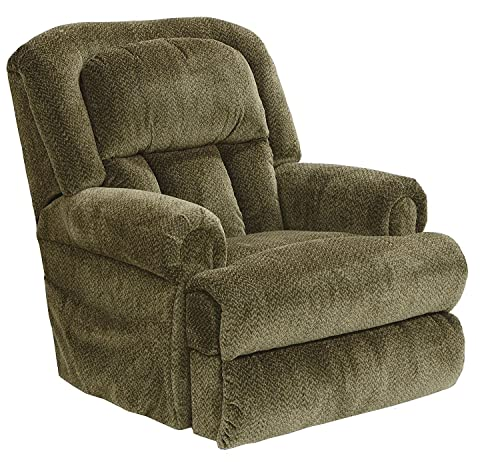 Catnapper Burns 4847 Power Dual Motor Infinite Position Full Lay Flat Lift Chair Recliner - Best for Durability.