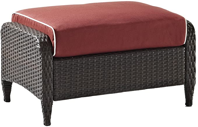 Crosley Furniture Kiawah Outdoor Wicker Ottoman – The Top Quality Wicker Ottoman