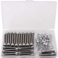 DIN 933 // ISO 4017 stainless steel V2A VA A2 20 pieces SECCARO hexagon bolt M8 x 30 mm external hexagon