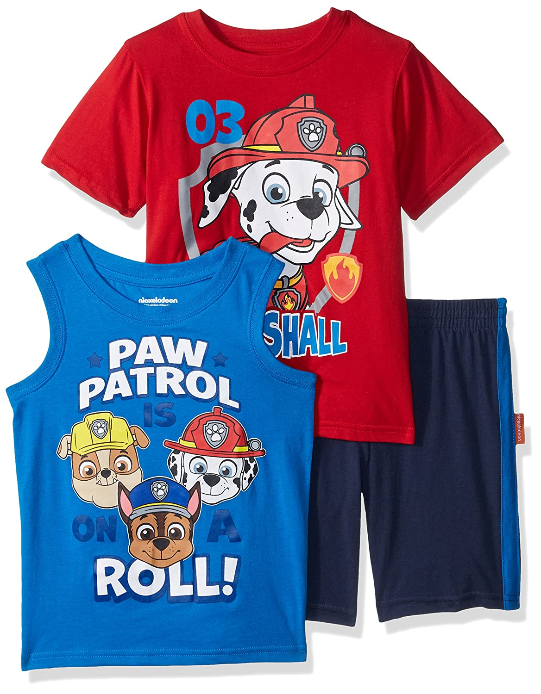 Paw Patrol Boys 3 Piece Short Set