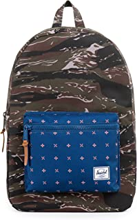 Herschel Zaino Casual, Black/Red (nero) - 10006-00001-OS Herschel Supply Company