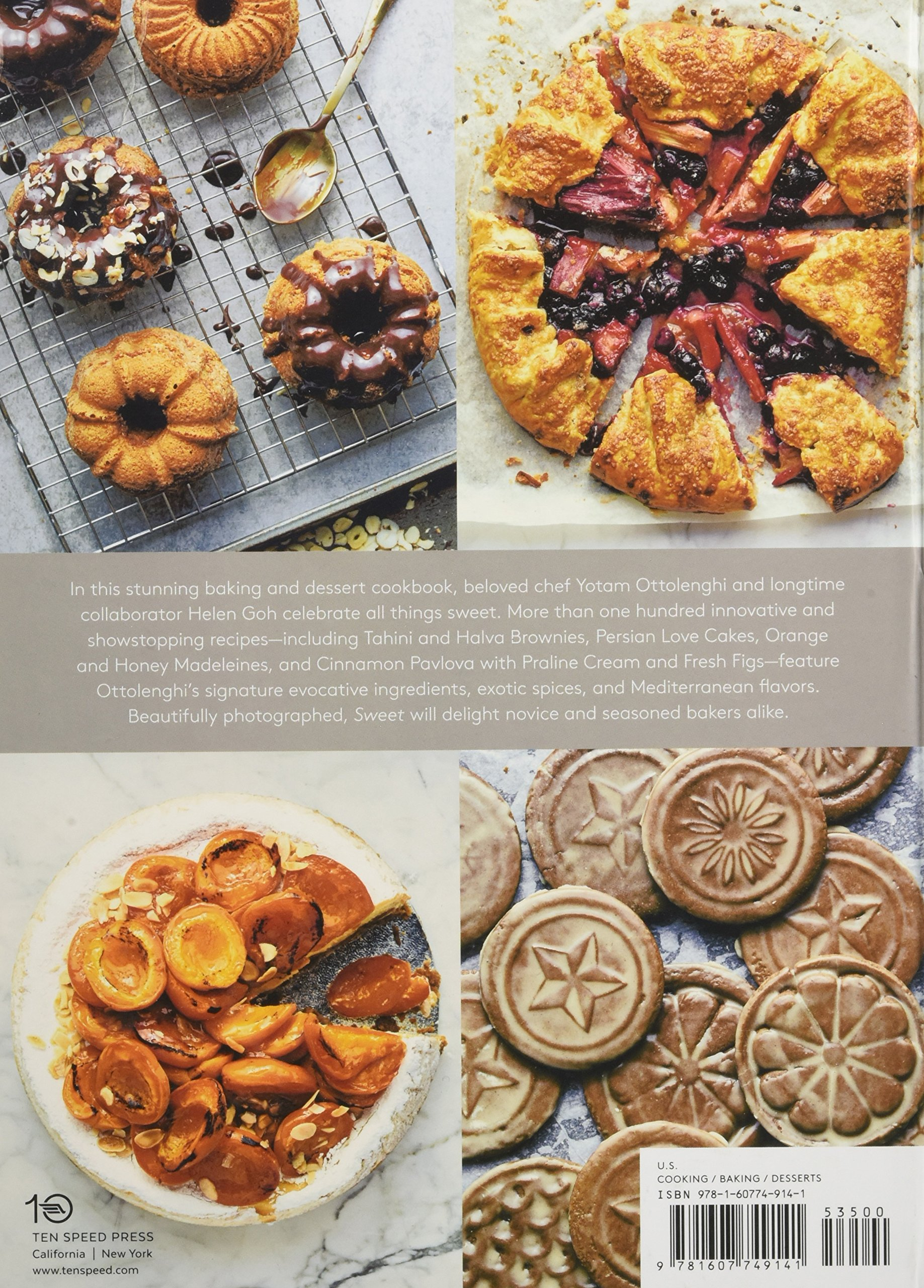 Ottolenghi The Cookbook Cover Recipe ~ Sweet desserts from london s ottolenghi yotam ottolenghi helen
