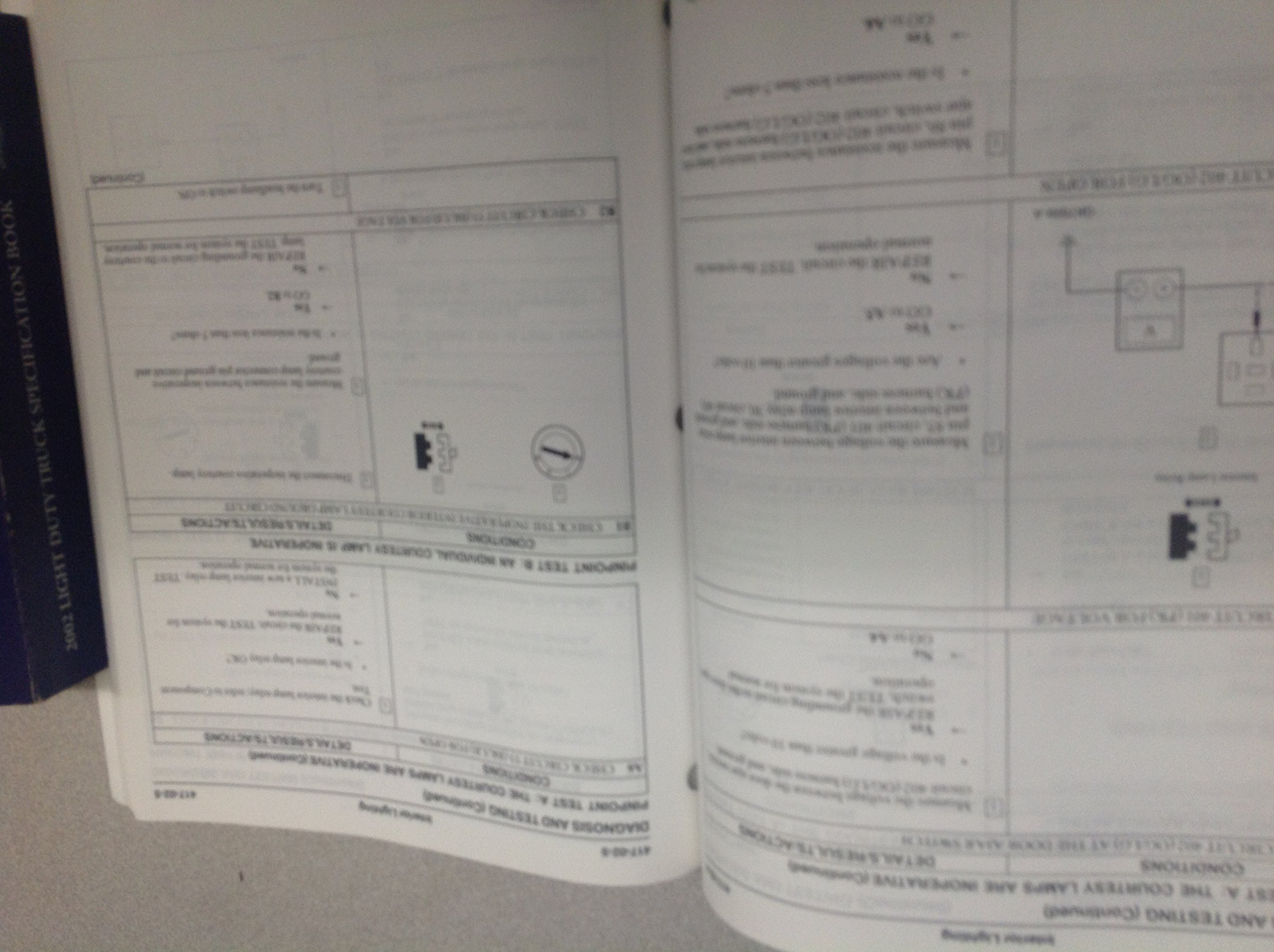 2002 Ford F 53 F53 Motorhome Chassis Service Repair Manual W Wiring Diagram Specifications Books
